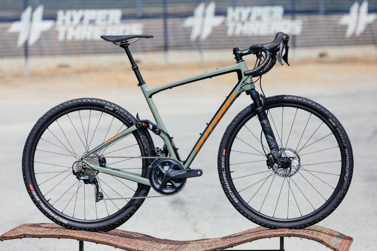 Sea Otter Classic 2019: Niner Bikes' MCR 9 RDO Prototype Full Suspension All Road