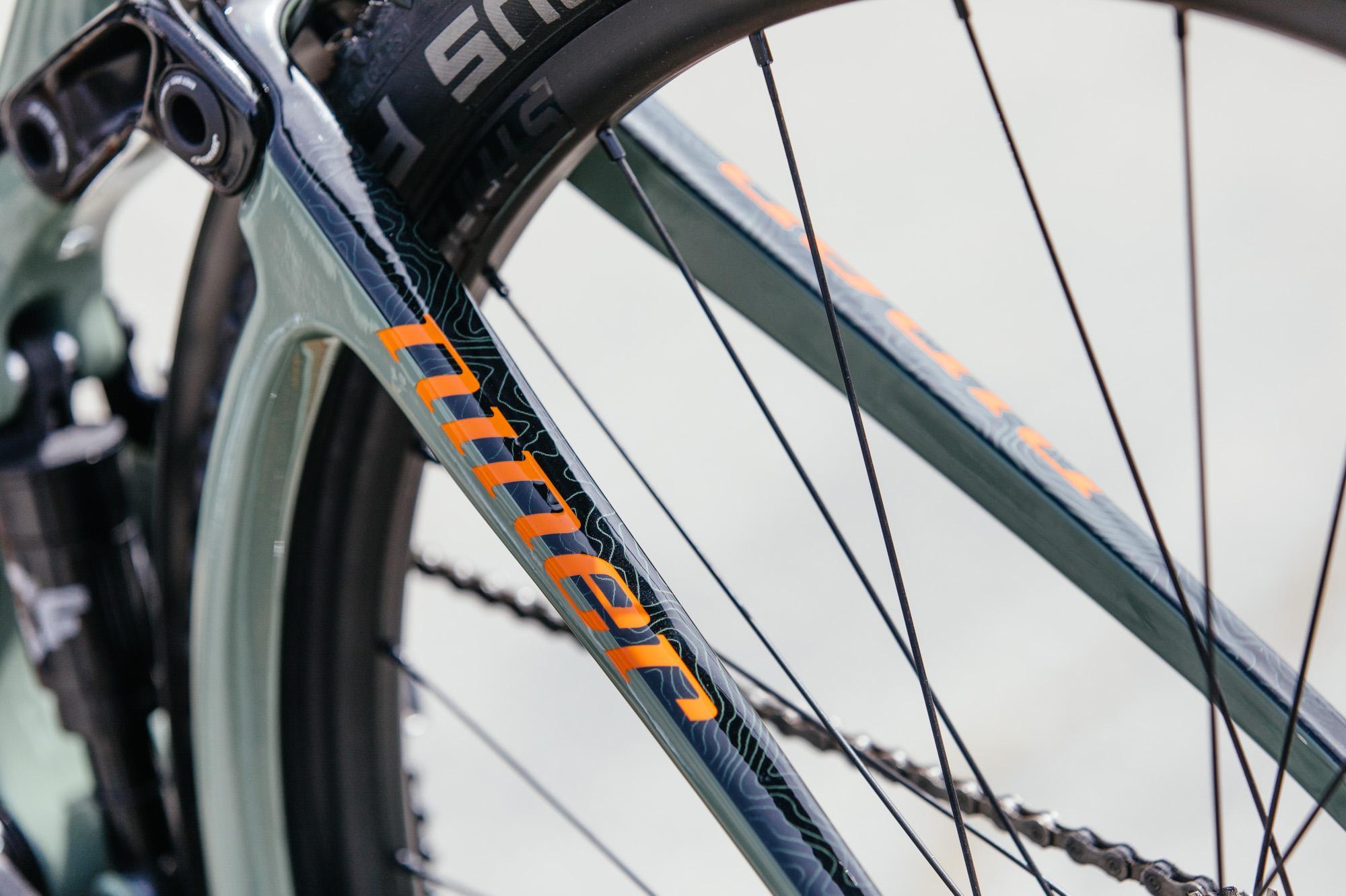 Niner Bikes' MCR 9 RDO Prototype Full Suspension All Road