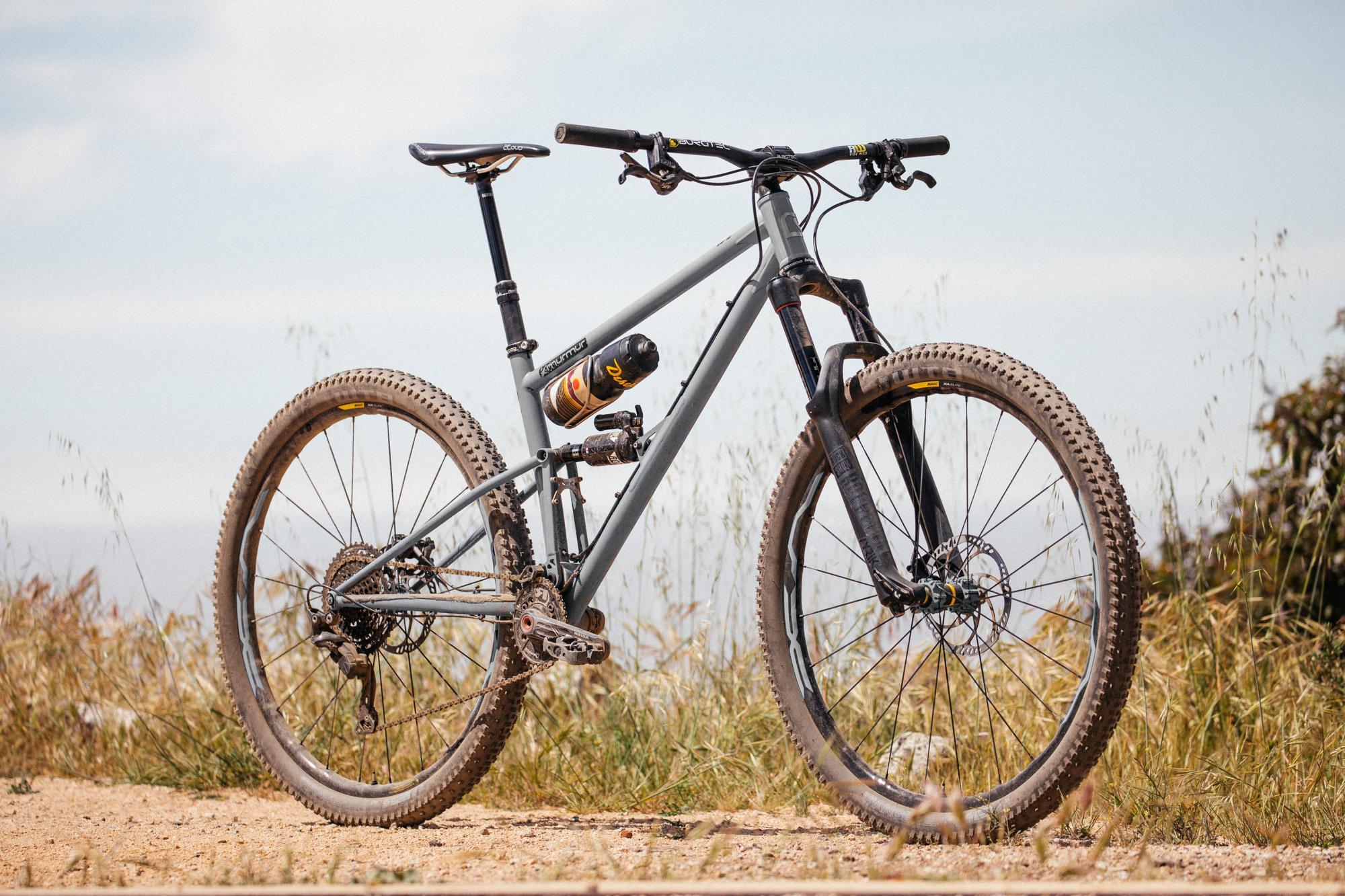The Starling Murmur is a Steel Full Suspension 29er