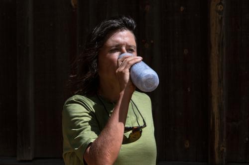Drinking water in Sonoita. (Rugile Kaladyte)