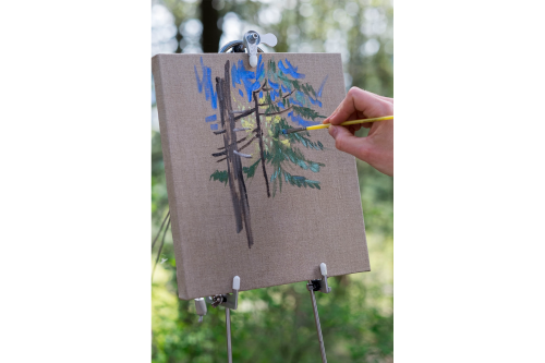 Christopher Russell's Art Rambler is a Mobile Paint Studio
