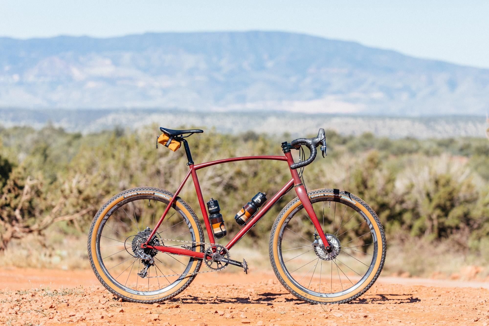 My Manzanita Sklar 27.5 All Road Is Meaner Now with Crust Towel Rack Bars