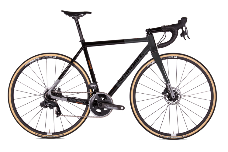 Standert's Kreissäge 2nd Cut DISC Road Bike is Made in Italy