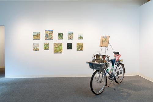 Russel May Gallery Install