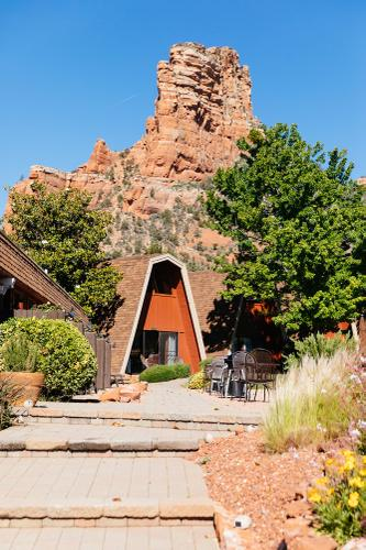 Where I would be sleeping for four nights in Sedona!