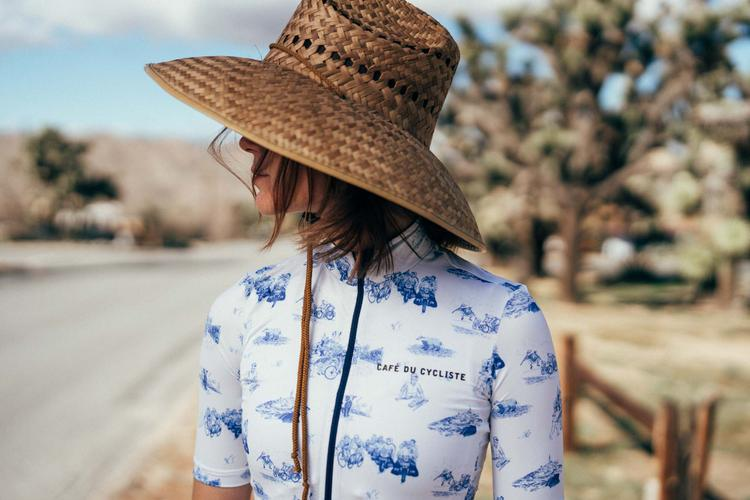 Café du Cycliste's Lookbook SS19 Toile de Jouy is So California