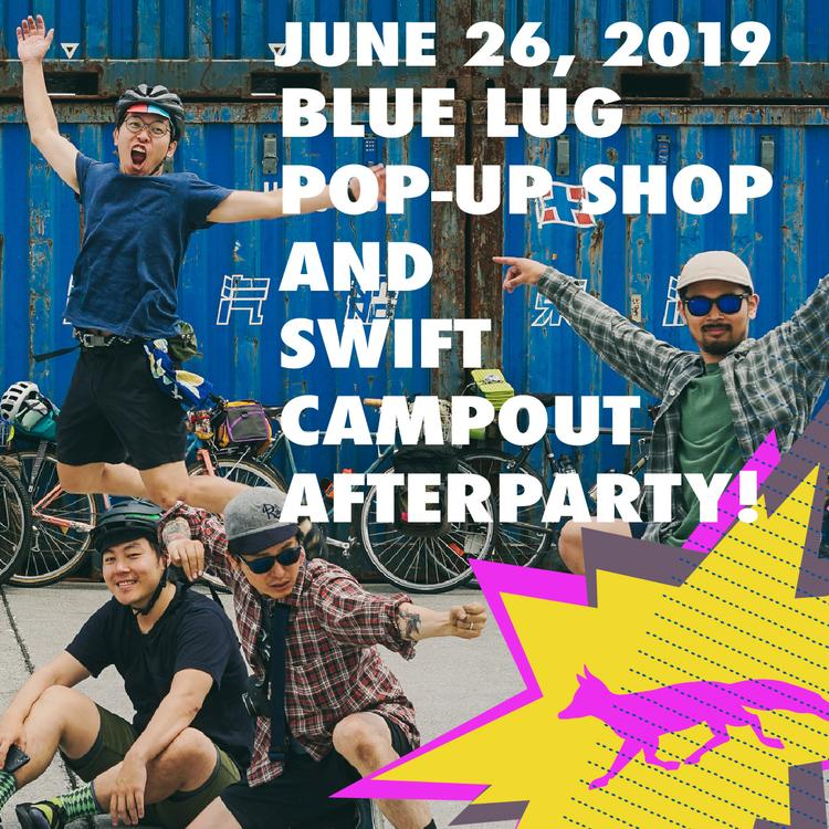 Party at the Swift Industries HQ Tonight with Blue Lug Japan!