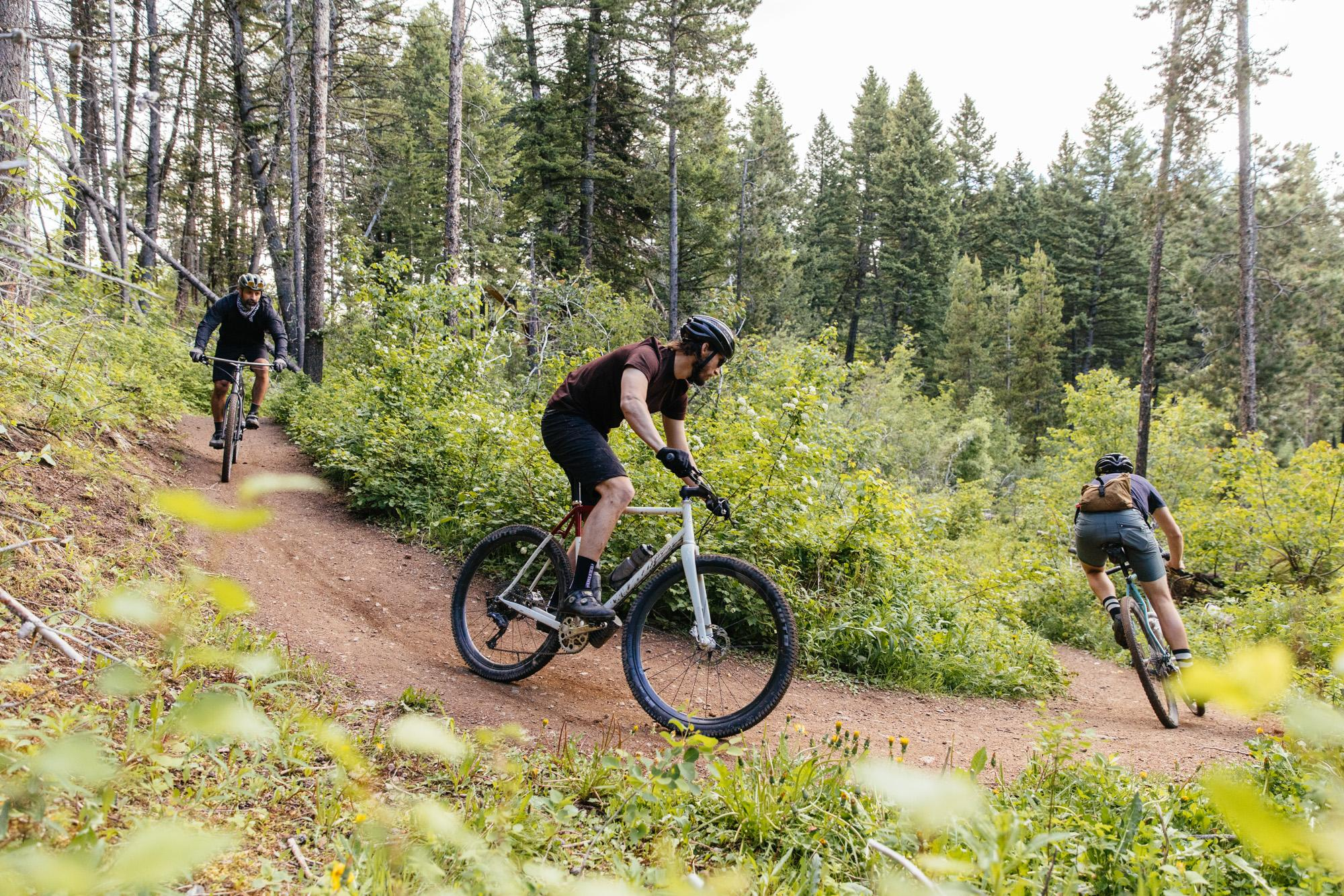 You Don't Need Suspension to Ride Bozeman's Main Street to the Mountains Trails!