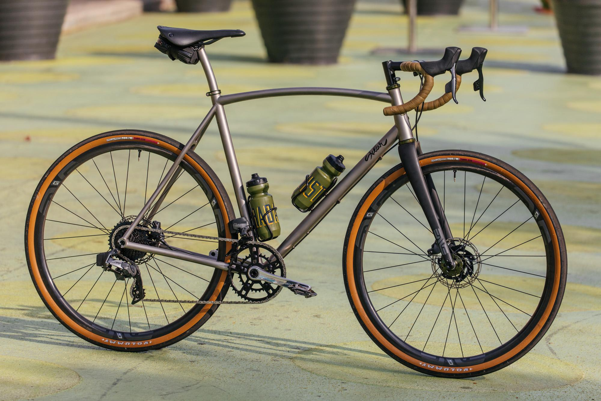 Colin's Titanium Sklar All Road with SRAM Force AXS