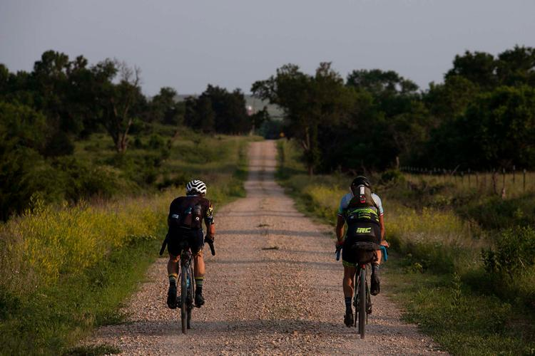 A String of Conversations along the Dirty Kanza XL