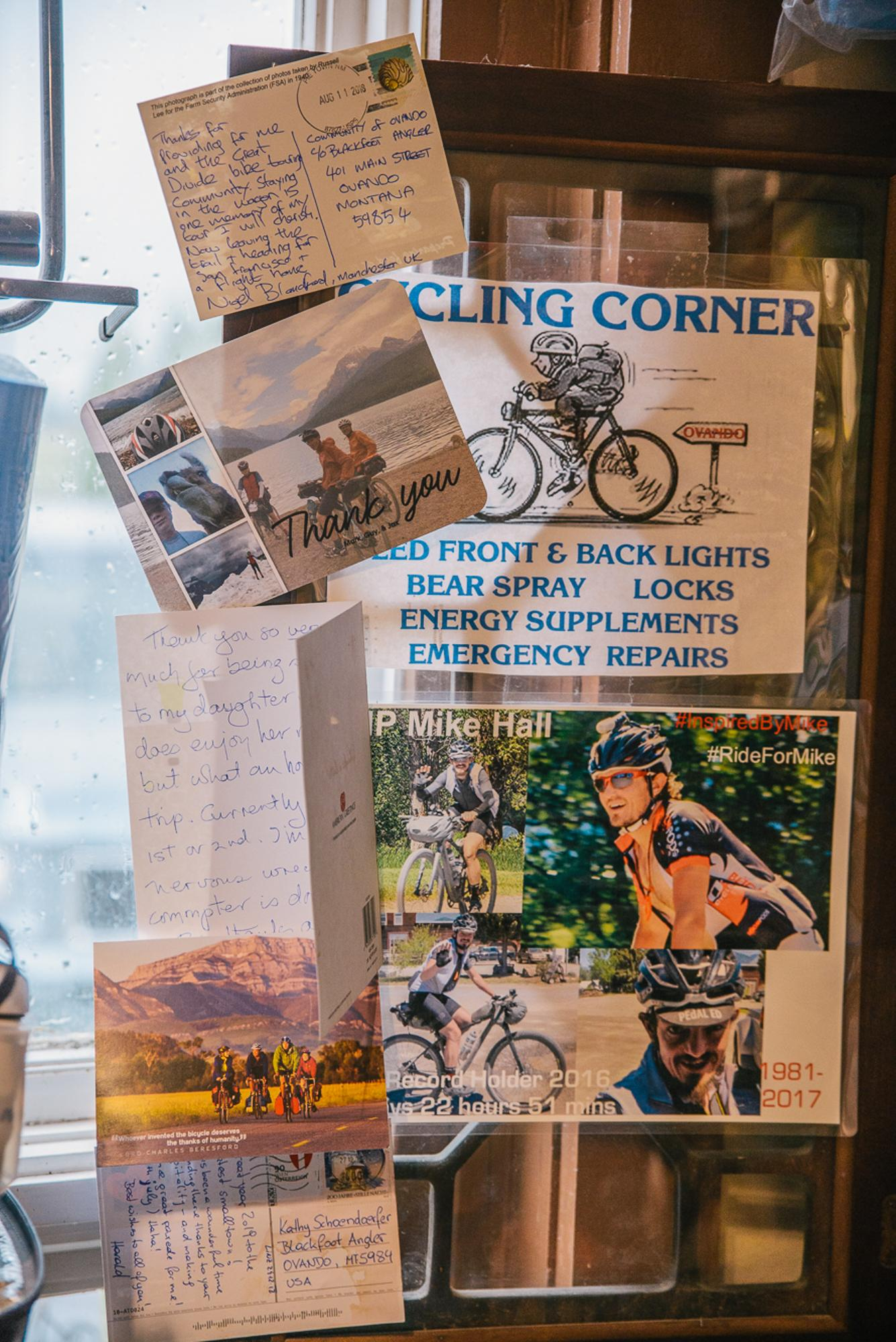 Kathy's cycling corner (Spencer Harding)
