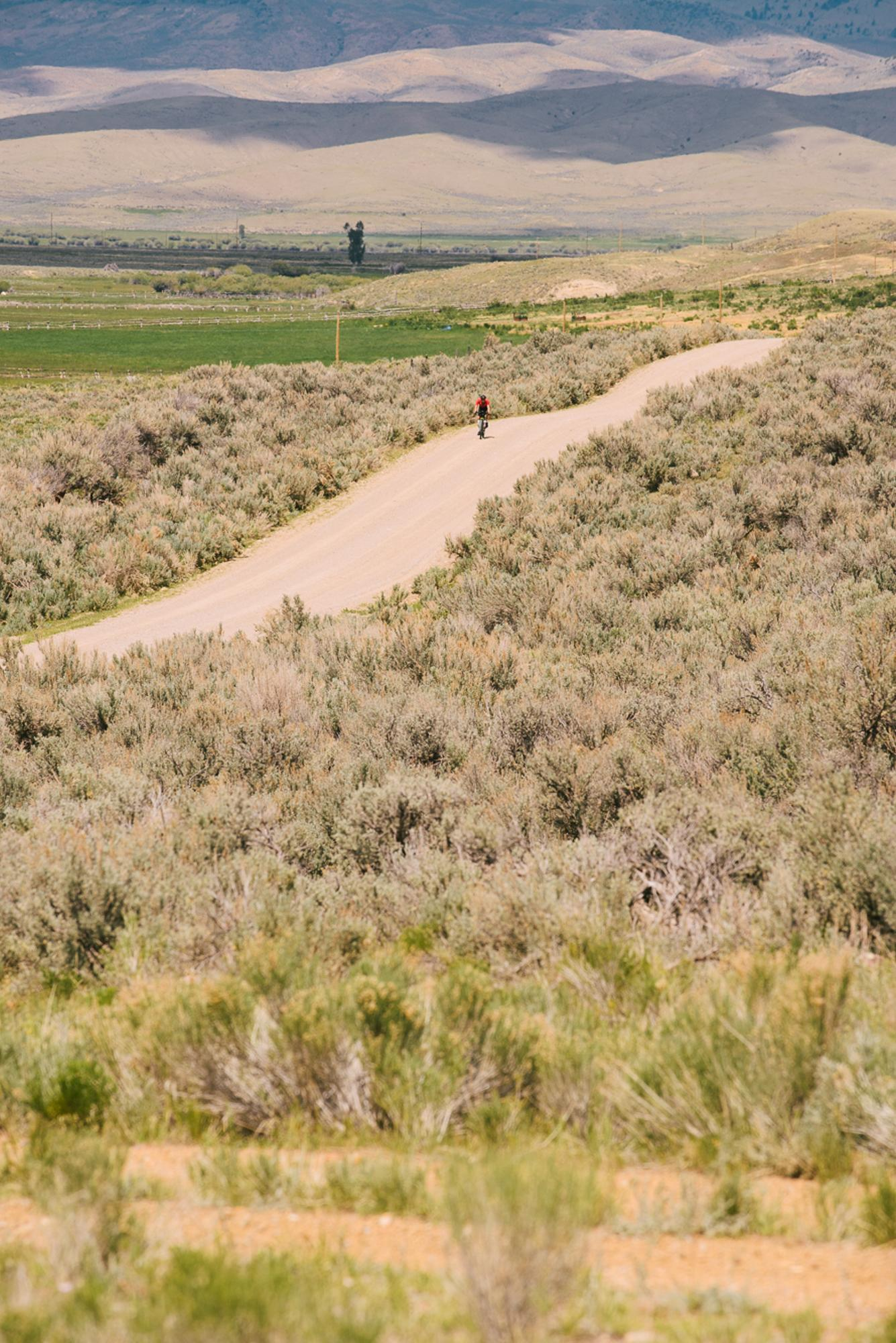 Josh Ibbet on the sagebrush rollers (Spencer Harding)