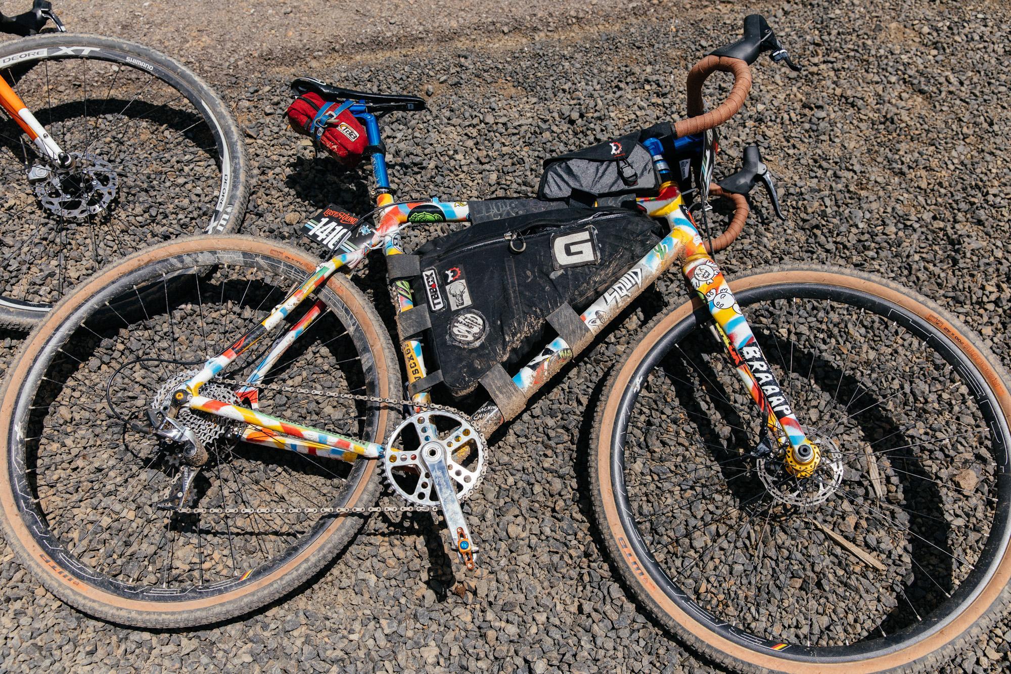 Nice bike, Hunter!