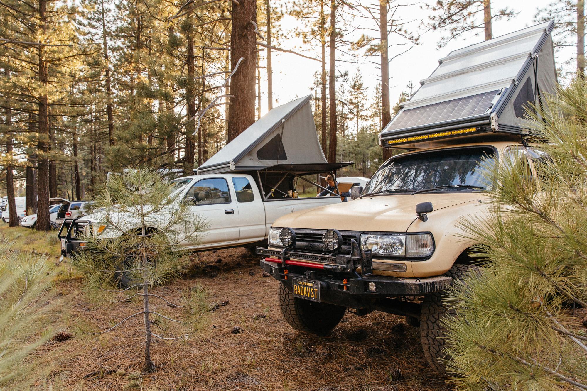 Go Fast Camper corral