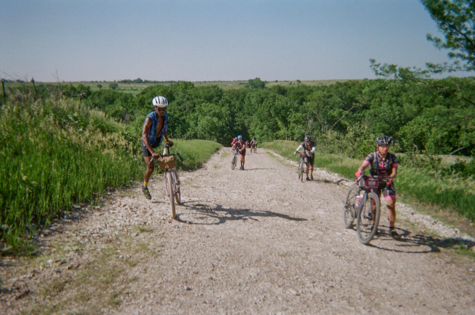 Team Brooks: a Grassroots Gravel Performance Art Installation Does Kanzaz