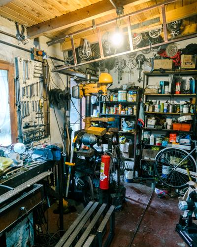 Miguel's workshop