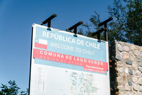Entering Chile, after nearly a week at the border