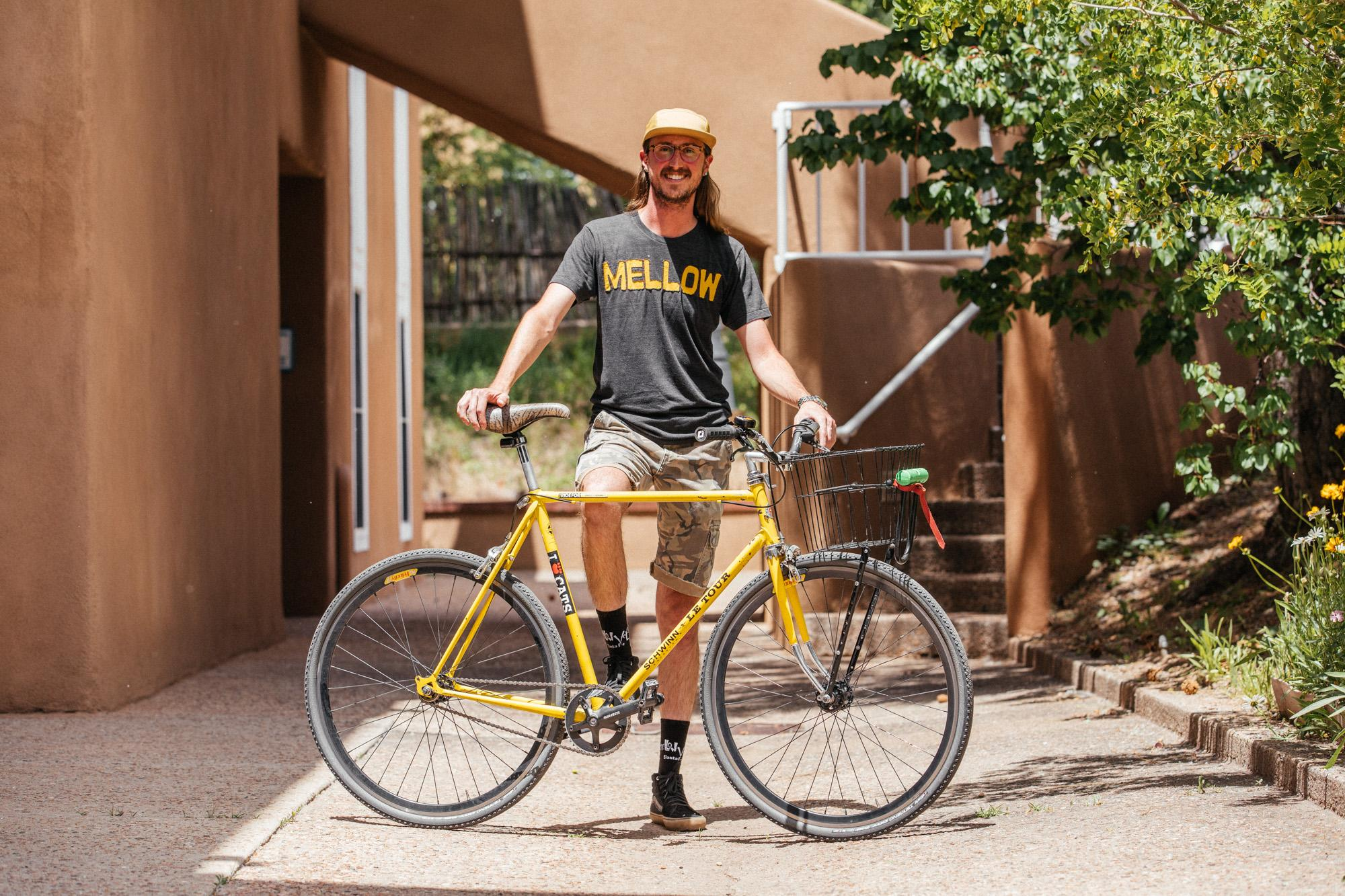 Nice seein ya, Rawson - we'll look at your bike later...