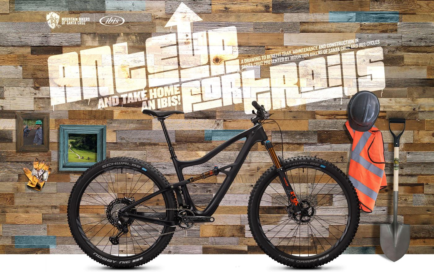 MBOSC is Getting Their Ante Up for Trails: Donate $5 to Support Trails & Win an Ibis!