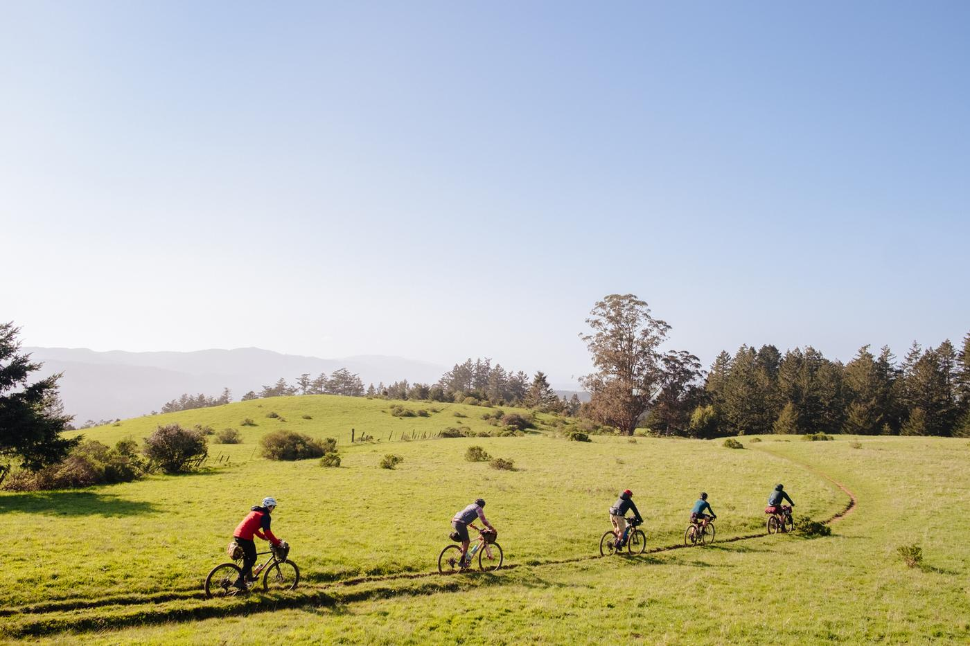 The Salted, Green, Grassy Hills: a Bicycle Tour Into the Marin Headlands