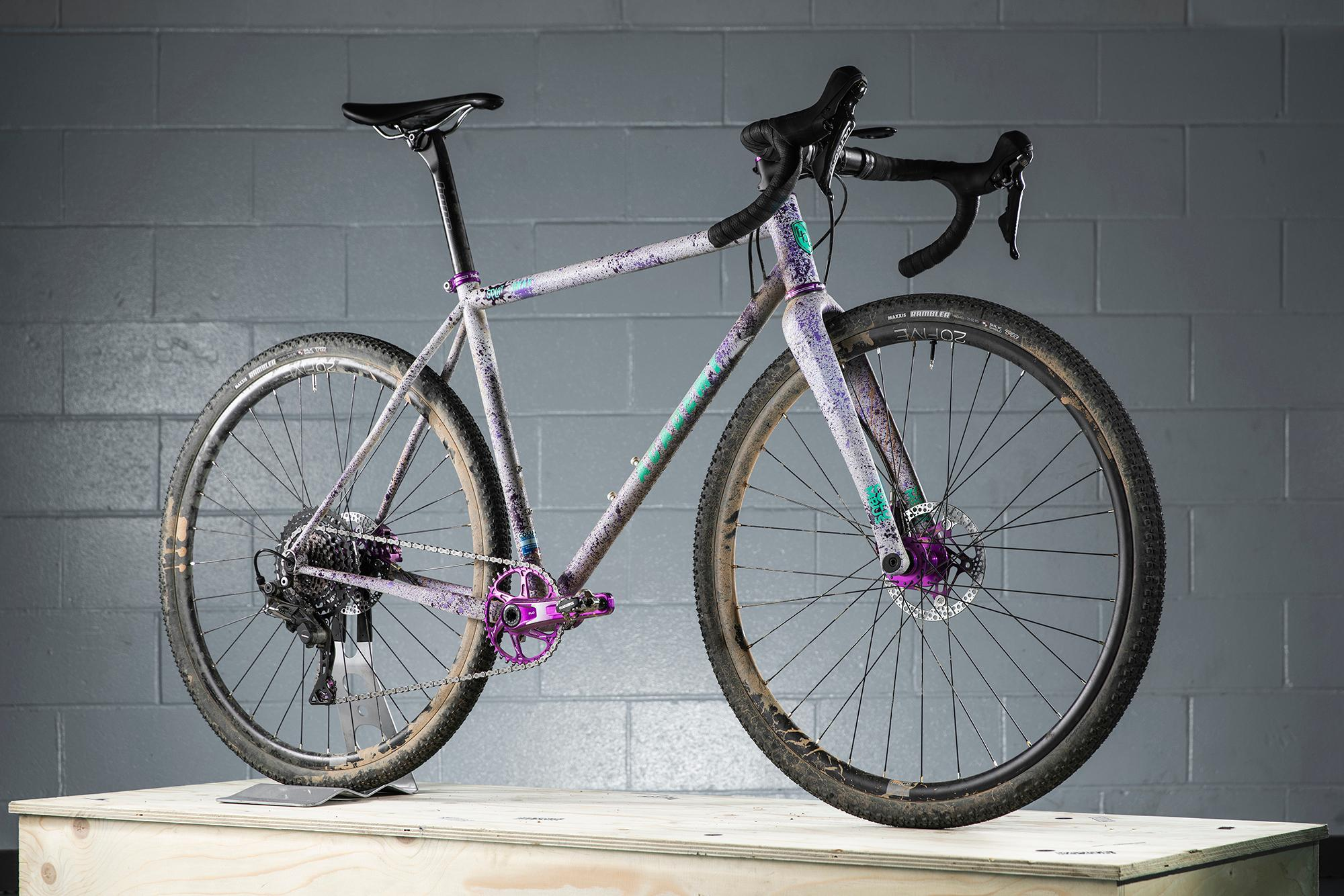 Grinduro Splat Grav custom build by The Bicycle Academy.Grinduro, Isle of Arran, Scotland, 13 Jult 2019