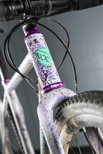 Grinduro Splat Grav custom build by The Bicycle Academy.Grinduro, Isle of Arran, Scotland, 13 Jult 2019