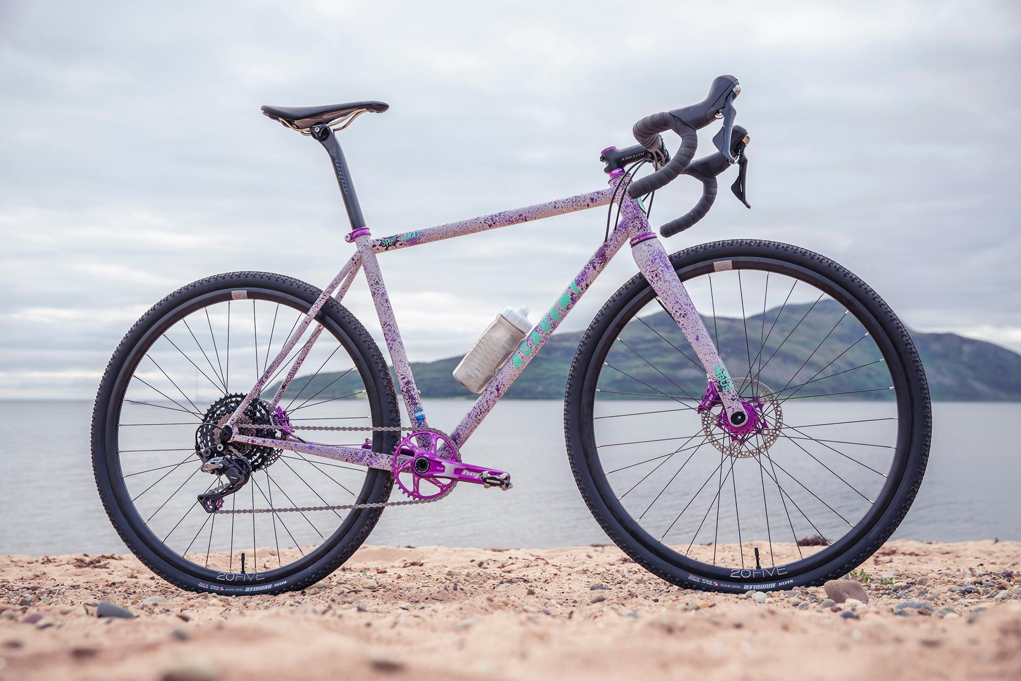 Grinduro Splat Grav custom build by The Bicycle Academy.Grinduro, Isle of Arran, Scotland, 13 July 2019