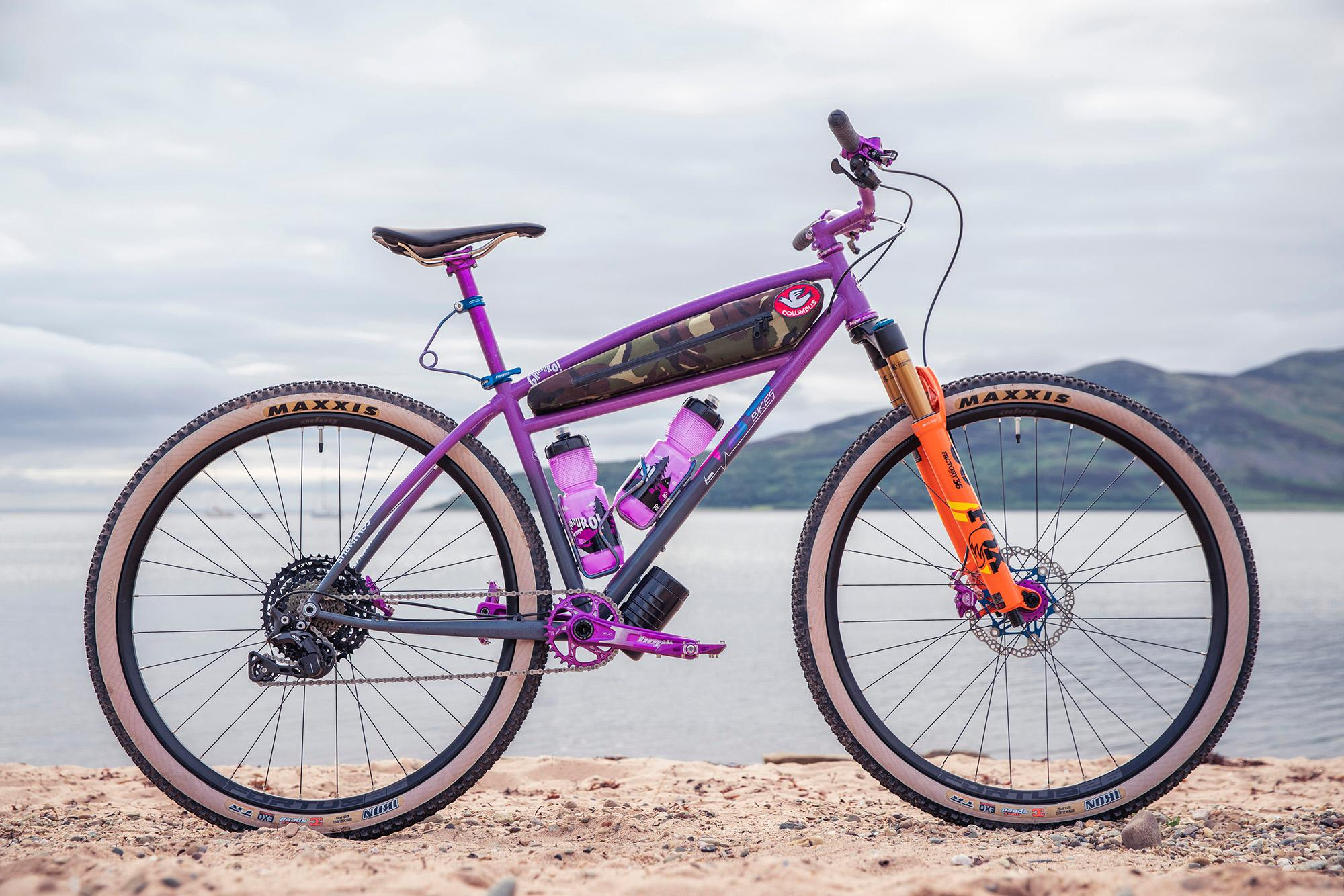 Grinduro custom build by Ted James Design.Grinduro, Isle of Arran, Scotland, 13 July 2019