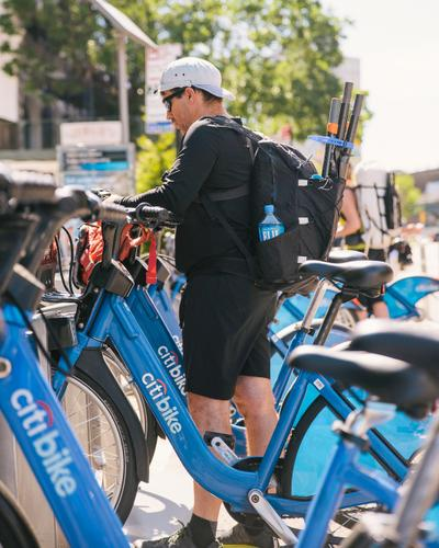 Docking the Citibikes in Brooklyn