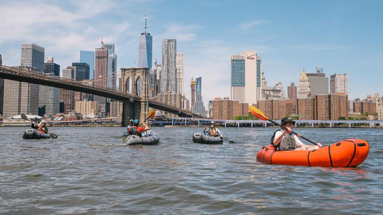 Citi Bikepacking the East River