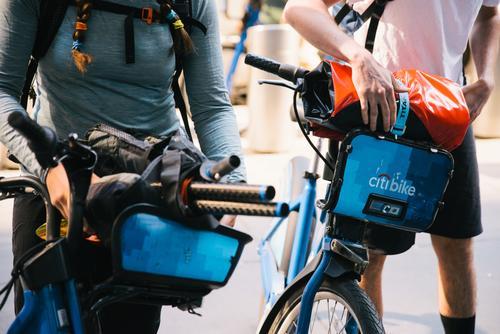 Citi-bikepacking