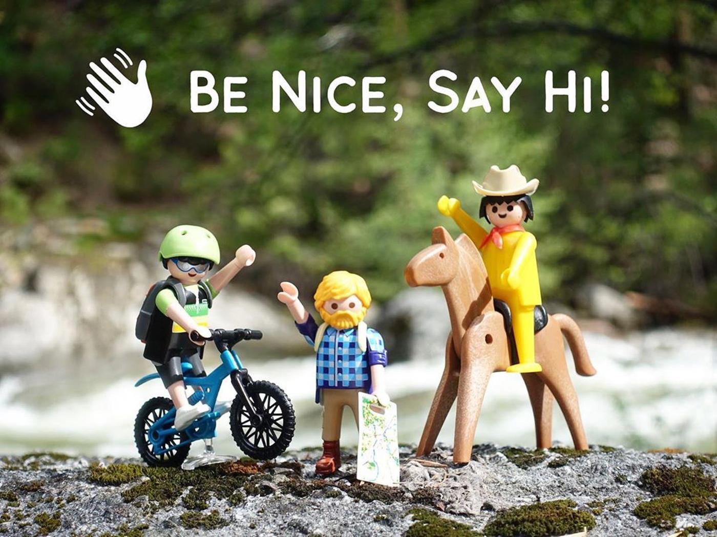 Be Nice Say Hi!