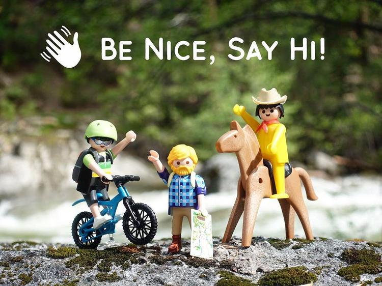 Be Nice Say Hi!