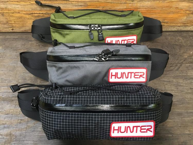 Hunter Cycles Updates their Fanny Packs with a Bungee Cargo Strap