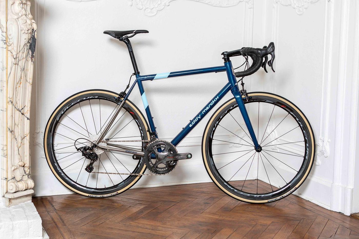 Eddy Merckx Debuts the Corsa Steel Bikes