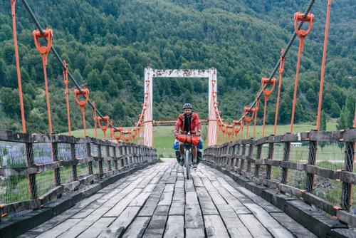 Always take the old wooden bridge!