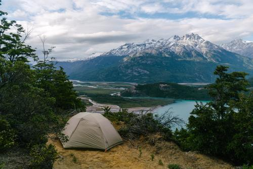 One of the best campsites in all of Patagonia