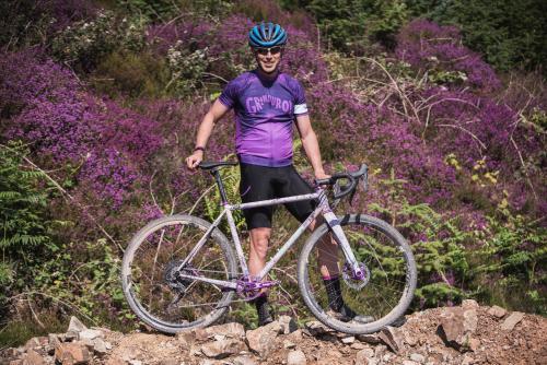 Grinduro Splat Grav custom build by The Bicycle Academy.Grinduro, Isle of Arran, Scotland, 13 July 2019