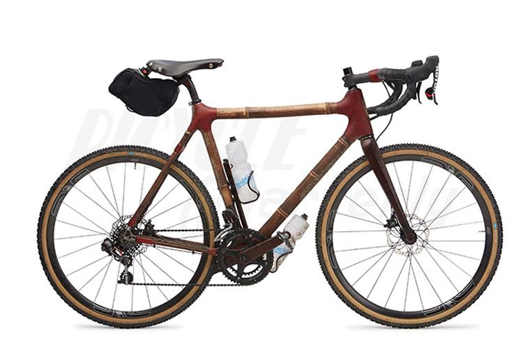 Bicycle Quarterly Looks at the Calfee Bamboo NAHBS Bike in the Cascade Mountains