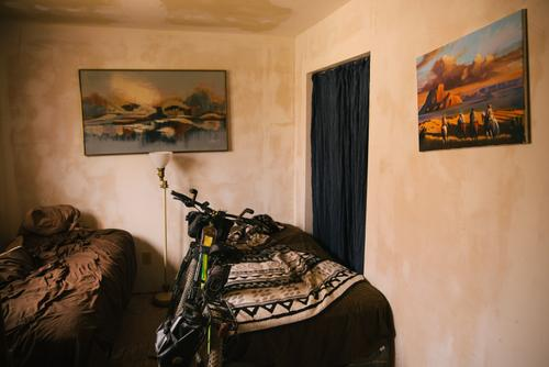 Bike Ranch room (Spencer Harding)