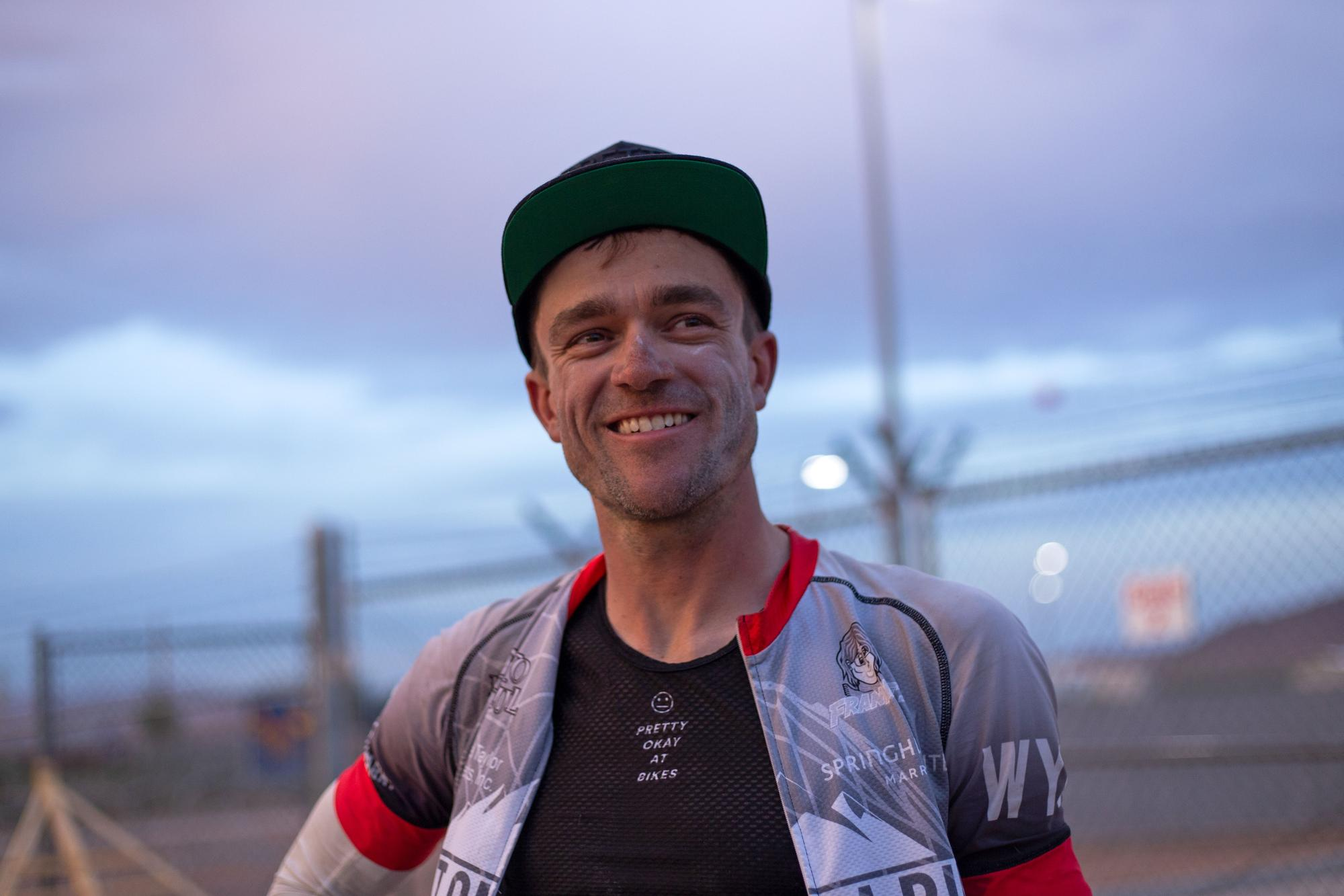 Chris Seistrup, the winner of the 2019 Tour Divide. (Rugile Kaladyte)