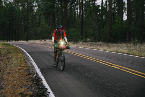 David Langley cruising the Gila (Spencer Harding)