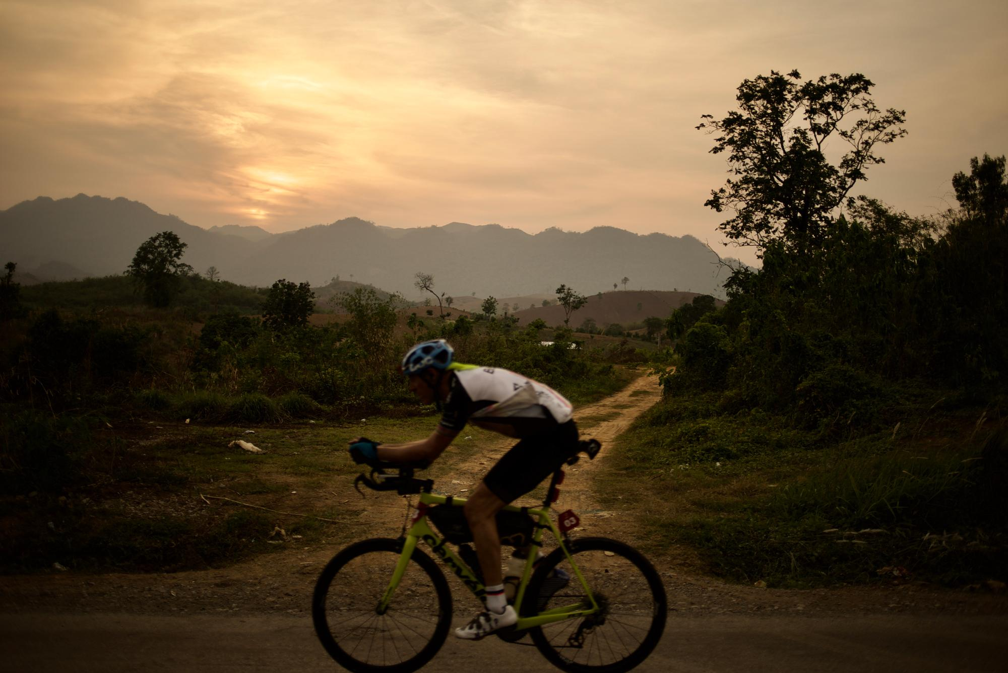The Night Always Wins: Jason Black and the Storms - BikingMan Laos