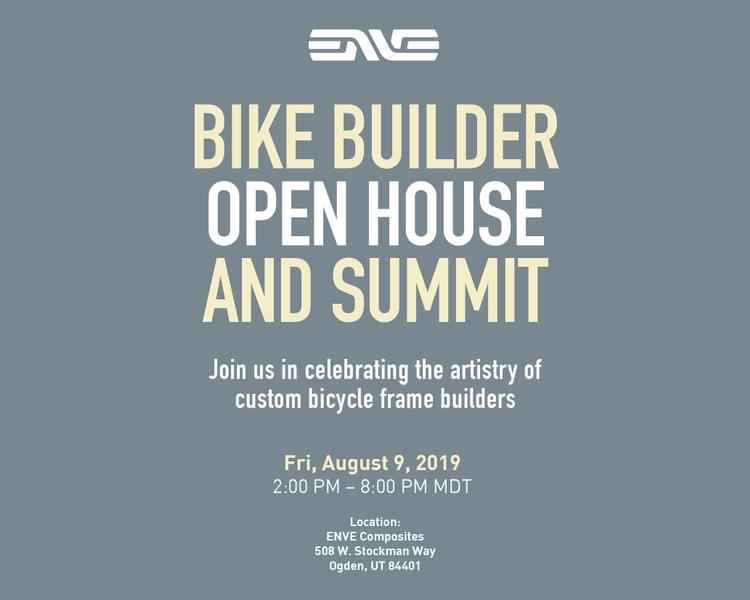 ENVE's Bike Builder Open House and Summit