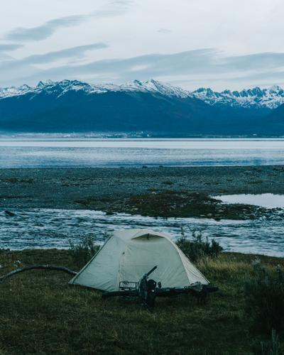 Camping on the Beagle Channel