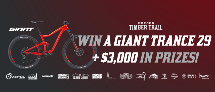 Raise Money for the Oregon Timber Trail and Win a Giant Trance
