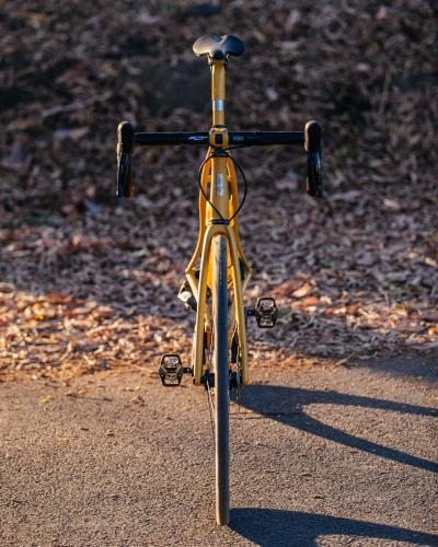 A Golden Speedvagen Disc OG Road with SRAM Force AXS
