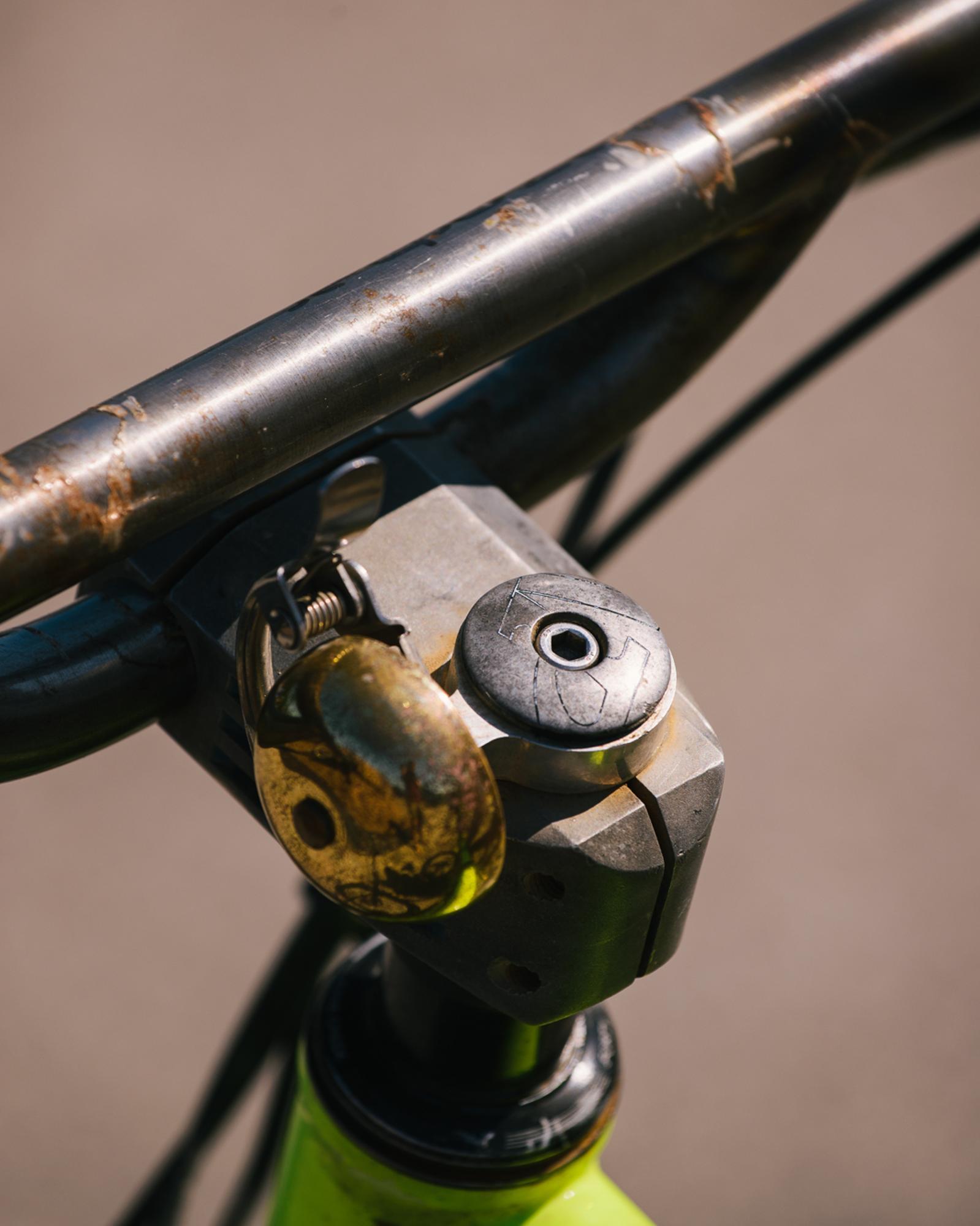 Trevor and His Cascadia Cycles Doug Fir Rigid MTB