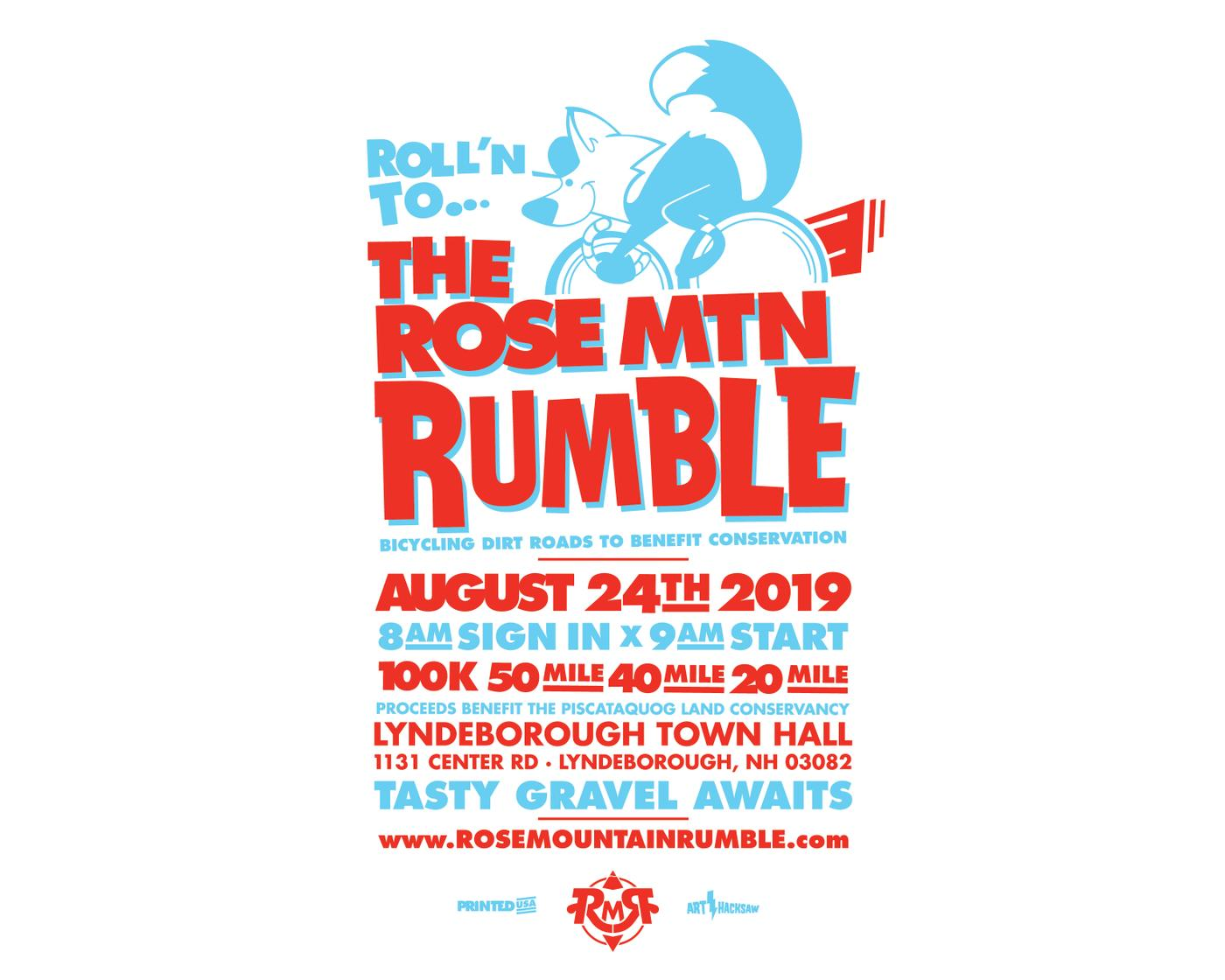The 2019 Rose Mountain Rumble