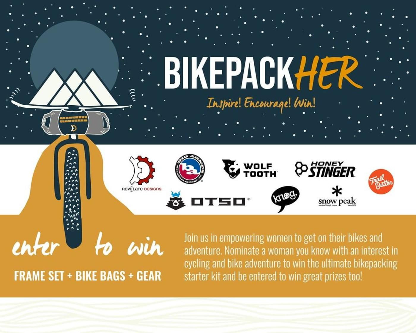 Nominate Your W/T/F Shred Friend for the Revelate Designs BikepackHER Giveaway!